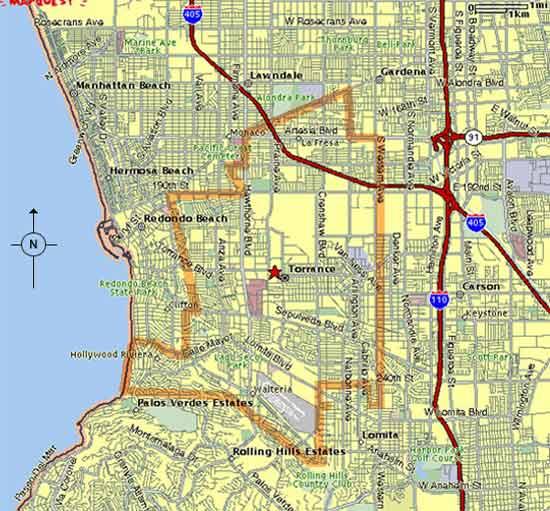 Torrance Maps