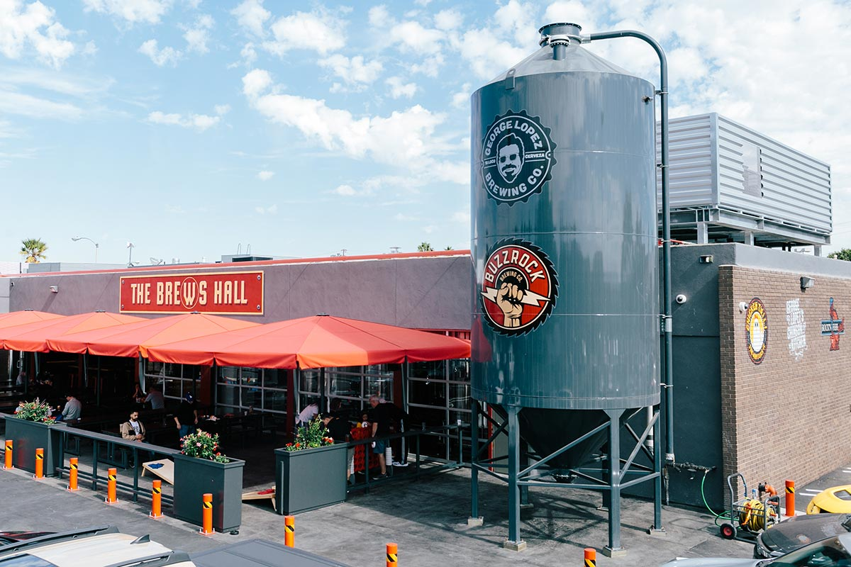 NEWSBREAK LIVE talks with owner of Torrance's Brews Hall